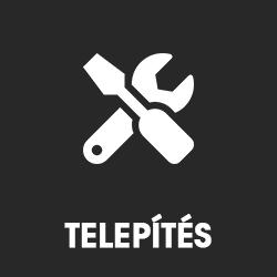 TELEPÍTÉS